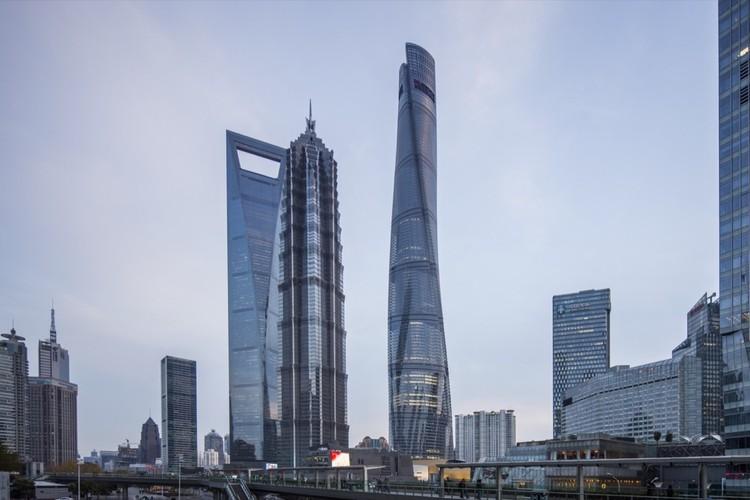 Gensler encabeza la lista de las principales firmas de arquitectura de Estados Unidos por noveno año consecutivo, Torre de Shanghai / Gensler. Imagen © Gensler/Shen Zhonghai