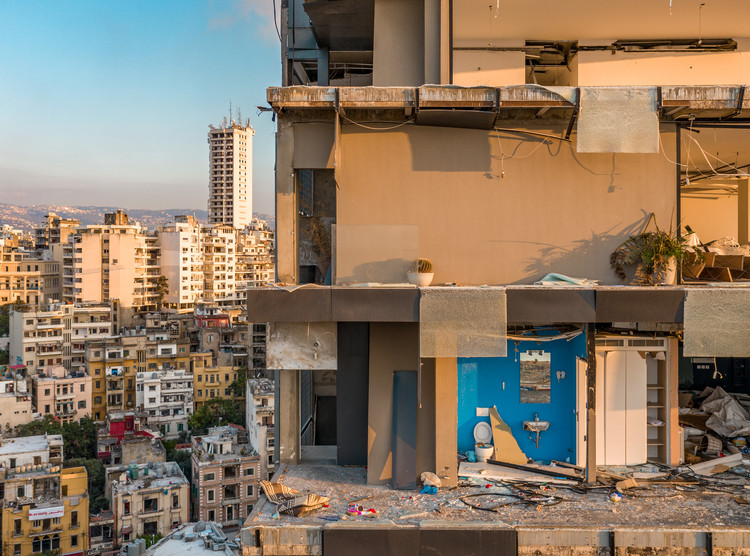 Beirut: Between a Threatened Architectural Heritage and a Traumatized Collective Memory, © Rami Rizk