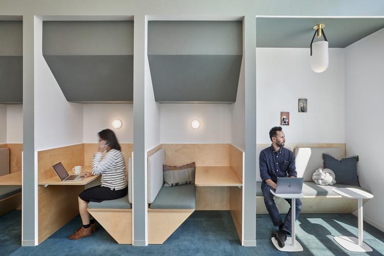 O futuro da economia compartilhada em tempos de COVID-19, Slack Headquarters / Studio O+A. Image © Garrett Rowland and Amy Young