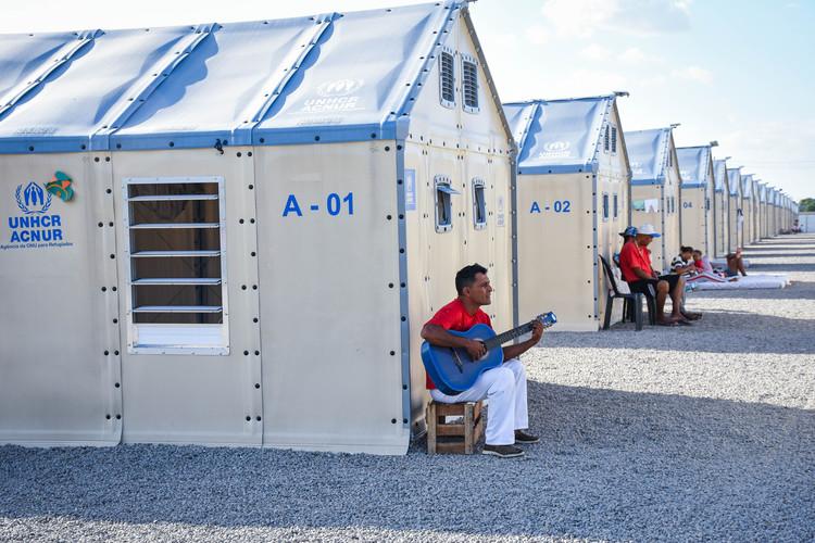El papel de la arquitectura en el tema de los refugiados y migrantes latinoamericanos, Cortesia de ACNUR