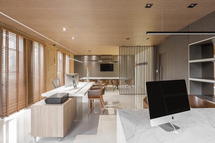 Escritório Construroom / Casa Gil Medeiros Interiores, © Mônica Assan