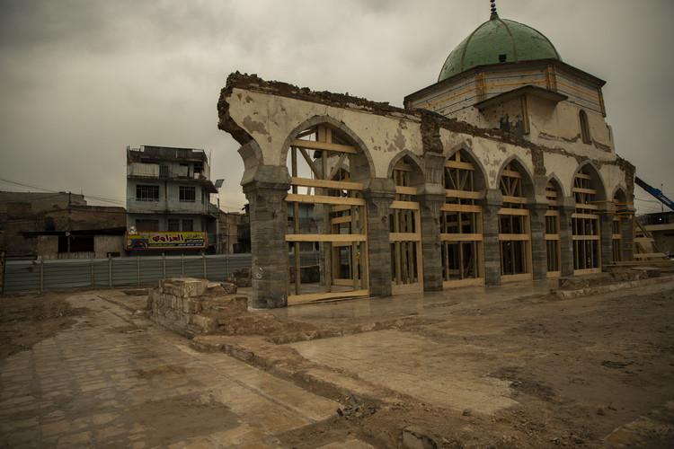 Destroyed Post-War Mosque. Image © UNESCO