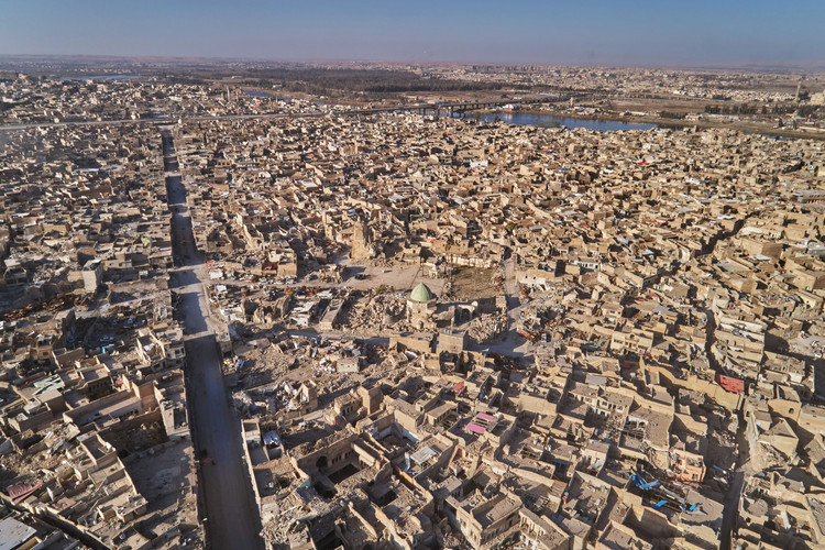 Mosul Old City in February 2018. Image © UNESCO