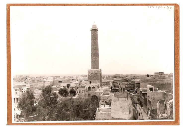 Minaret. East View in 1930s. Image © World Monuments Fund Collection