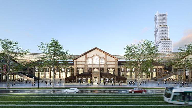 Nieto Sobejano presenta su propuesta para un nuevo centro cultural en París, Cortesía de 2020 Nieto Sobejano Architecte mandataire & Marin Trottin Architecte associé