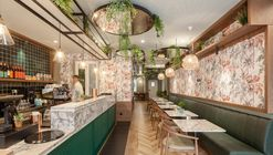 Optimistic Brunch Restaurant / Contacto Atlântico