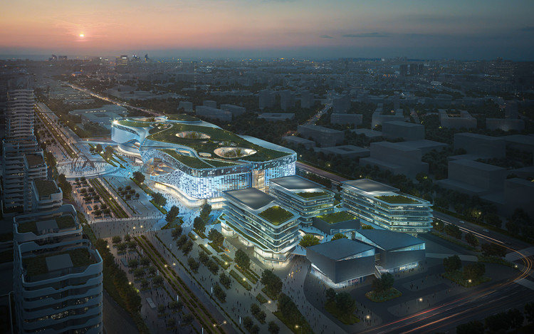 10 Design Wins Competition to Participate in the Redevelopment Plans of the Nanjing Dajiaochang Airport in China, © 10 Design