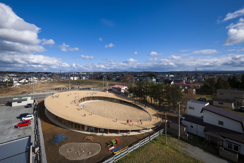 Yoshino Nursery School and Kindergarten / Tezuka Architects