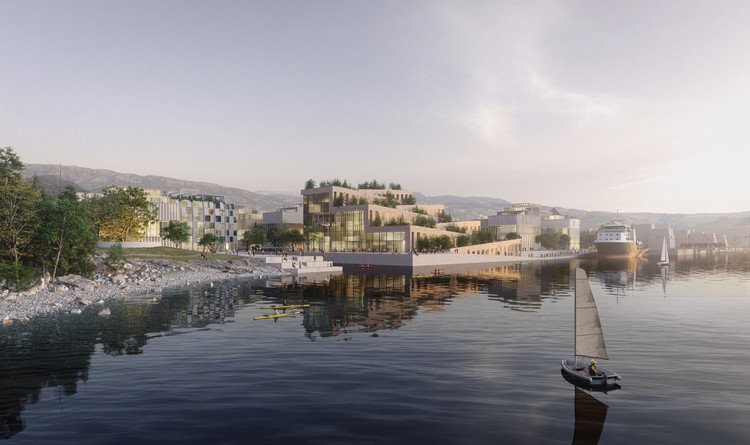 Third Nature Designs Regenerative City Plan for Bergen, Norway, Courtesy of Real Polygons, for Tredje Natur