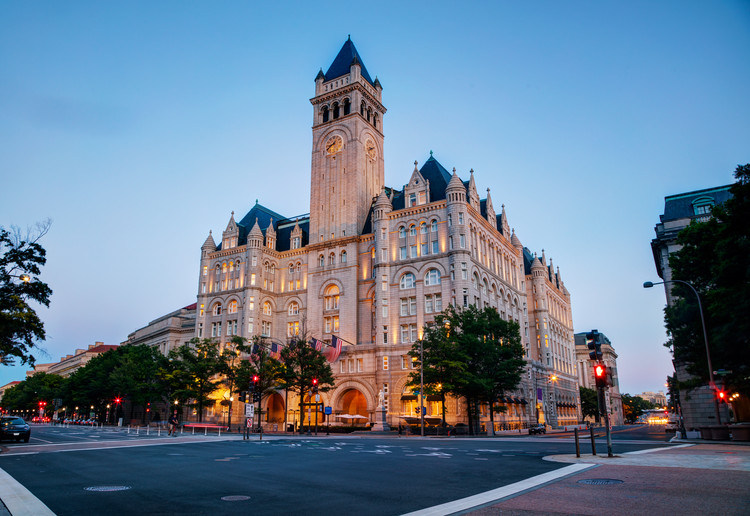 A COVID-19 Memorial Could Capture the Passions Coursing Through American Society, Old Post Office Building in Washington, D.C.. Image © Photo.ua | Shutterstock
