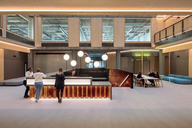 The Export Building at Republic / Studio RHE, © Dirk Lindner