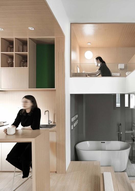 Yard Apartment / Qisi Design. Image Courtesy of CL studio