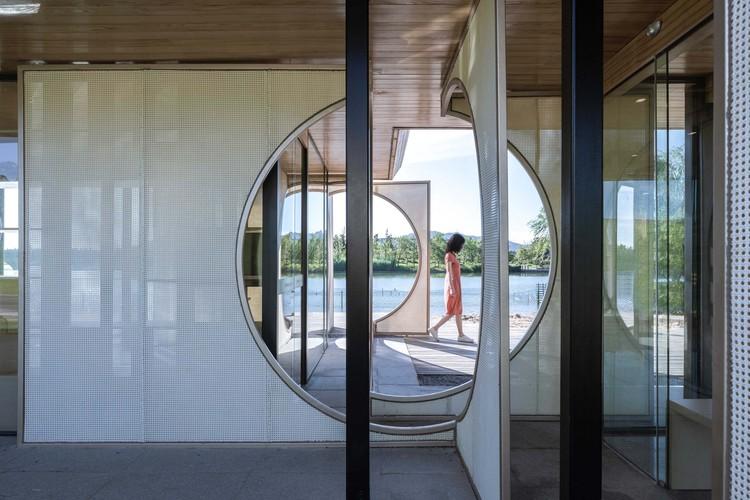 Screen Pavilion / Ray&Emilio Studio, screen pavillion. Image © Yilong Zhao