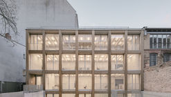 Oficina Remise Immanuelkirchstrasse / JWA Berlin + Ralf Wilkening Architect
