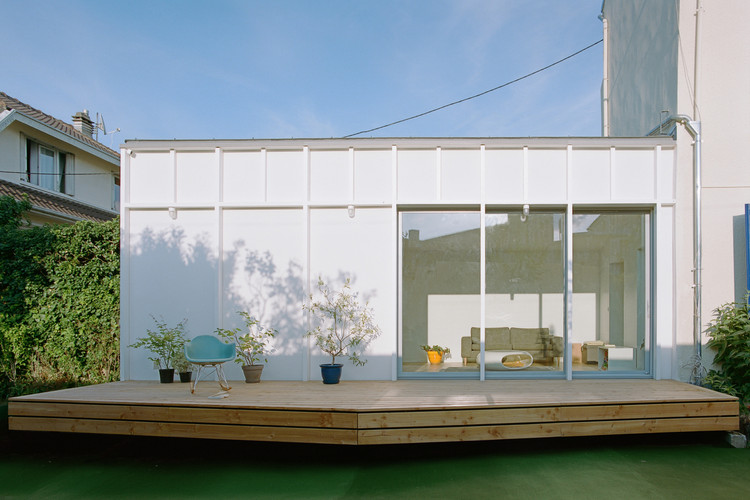 Extensión Casa Neui / Benoit Rotteleur Architecte, © Antoine Séguin