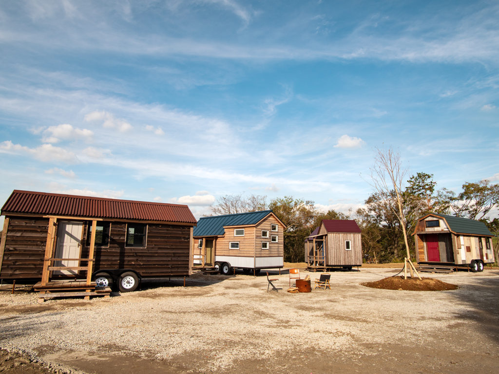 Minimal Homes and a Central Collective Space: Tiny House Communities Around the World