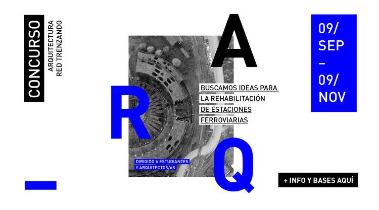 Concurso de Ideas para la rehabilitación de estaciones ferroviarias / Red Trenzando, Trenzando