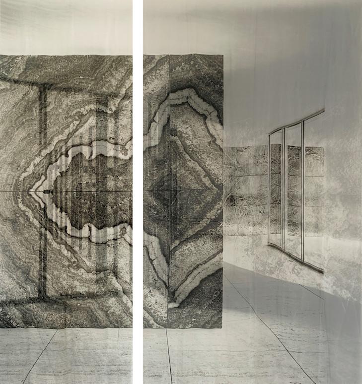 Visite online a instalação criada por artista brasileiro no Pavilhão de Mies van de Rohe, Cortesía de Fundació Mies van der Rohe