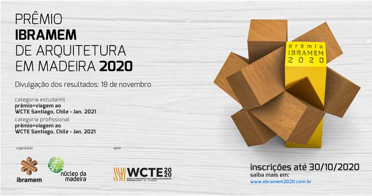 Inscrições abertas para o Prêmio IBRAMEM de Arquitetura em Madeira 2020, Divulgação - Prêmio IBRAMEM de Arquitetura em Madeira 2020