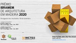 Inscrições abertas para o Prêmio IBRAMEM de Arquitetura em Madeira 2020
