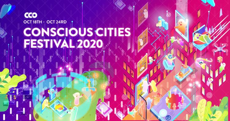 Conscious Cities Festival 2020 , ©The Centre for Conscious Design