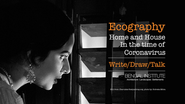Ecography—Home and House in the Time of Coronavirus, Image from 'Charulata' @satyajitray.org, Photo by: Subrata Mitra