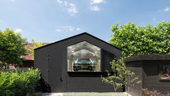Casa Geminada Black Gems em Amsterdã / Bureau Fraai