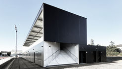 Stadium and Locker Room for Thouars City / Thibaudeau Architecte + Tocrault & Dupuy Architectes