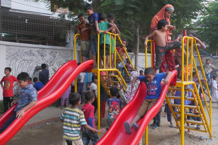 Rayerbazar Boishakhi Playground - Bangladesh. Image Courtesy of UN-Habitat