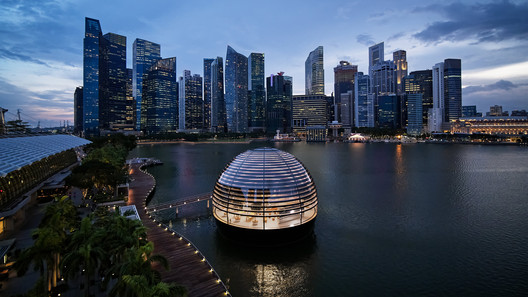 Apple Marina Bay Sands / Foster + Partners