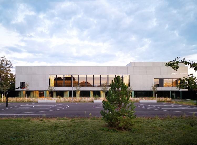 """Im Sand"" Gymnasium / rhb architectes, Courtesy of rhb architectes"