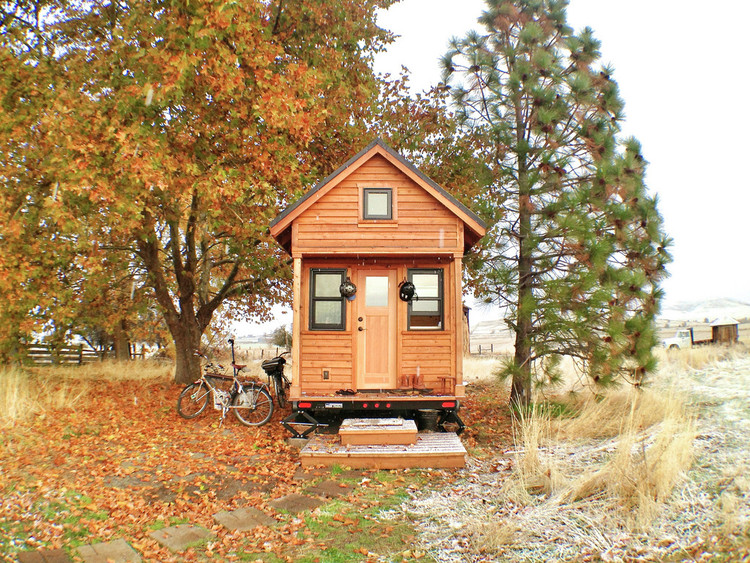 Vida e morte das Tiny Houses, © Flickr CC User Tammy Strobel