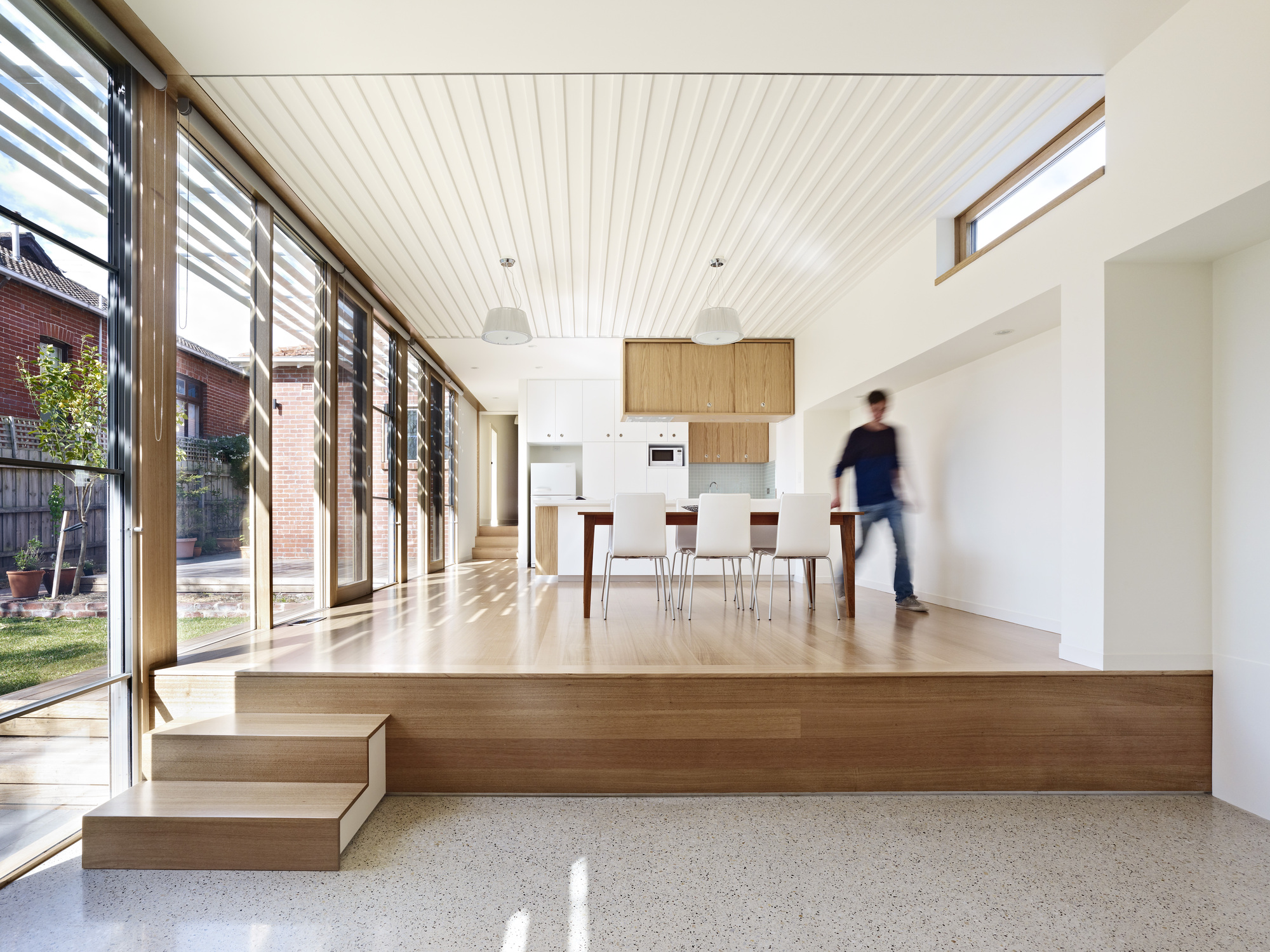 St. Kilda Side Yard House / Andrew Child Architect