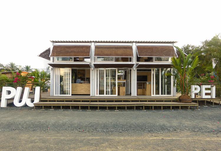 Máquina Verde: prototipo de vivienda social modular adaptable, © Juan Carlos Cuberos