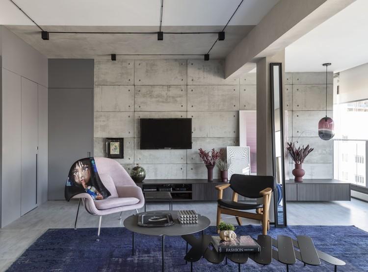Apartamento Campo Belo I / Renata Spinelli Arquiteta, © Evelyn Muller