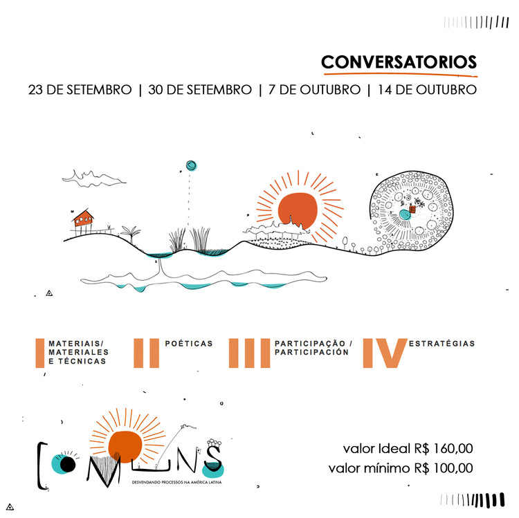 Ciclo de Conversatórios COMUNS, Micro arquiteturas: André Moraes