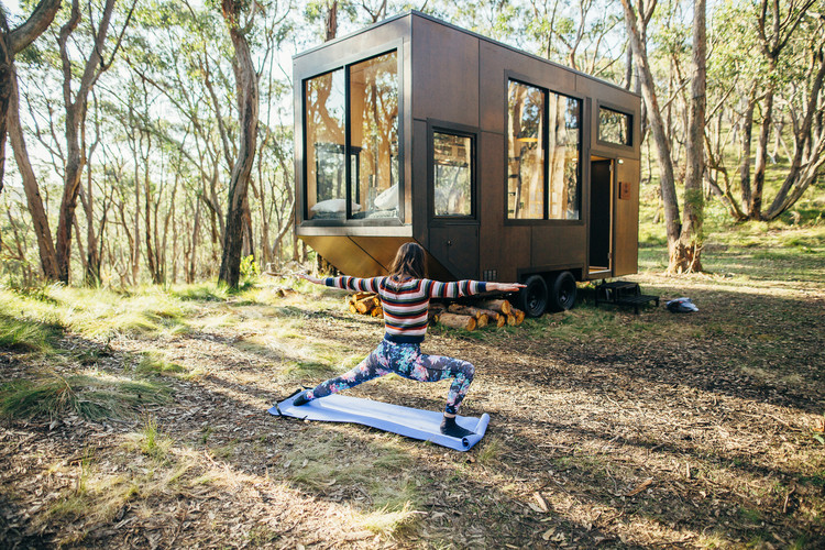 Tiny Houses on Wheels: Flexibility and Mobility in Small Scale Architecture, An Australian Tiny Home / CABN. Courtesy of CABN