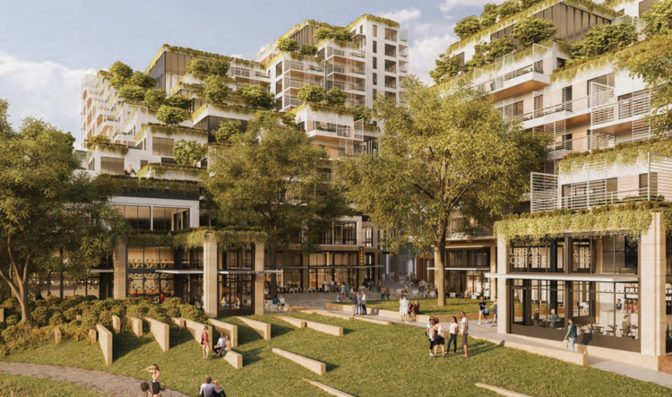 Mixed-Use Waterfront Project Set to Transform West Melbourne, Courtesy of Architectural Visualization Studio Soba
