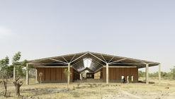 Escuela secundaria y edificios auxiliares del complejo escolar Bangre Veenem / Albert Faus