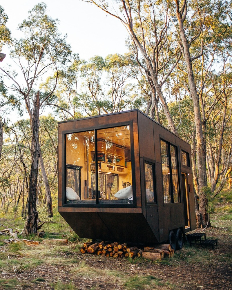 CABN tiny house in forest