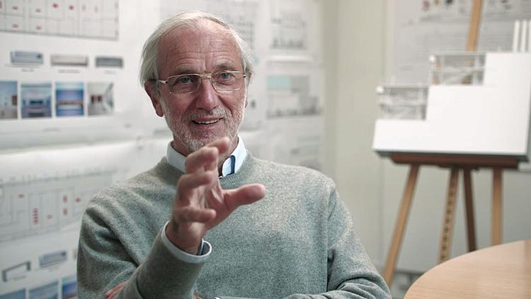 Leveza e sensibilidade na obra de Renzo Piano, Renzo Piano. Imagem via La Abeille et l'architecte, under the terms of fair use