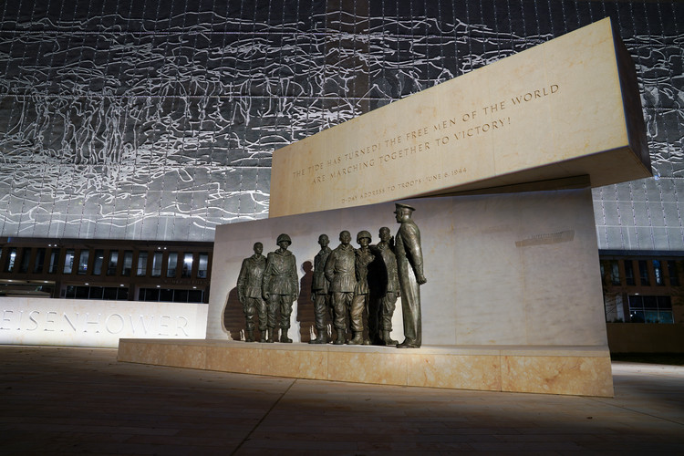 Monumento a Eisenhower de Frank Gehry próximo a inaugurar, Courtesy of Dwight D. Eisenhower Memorial Commission