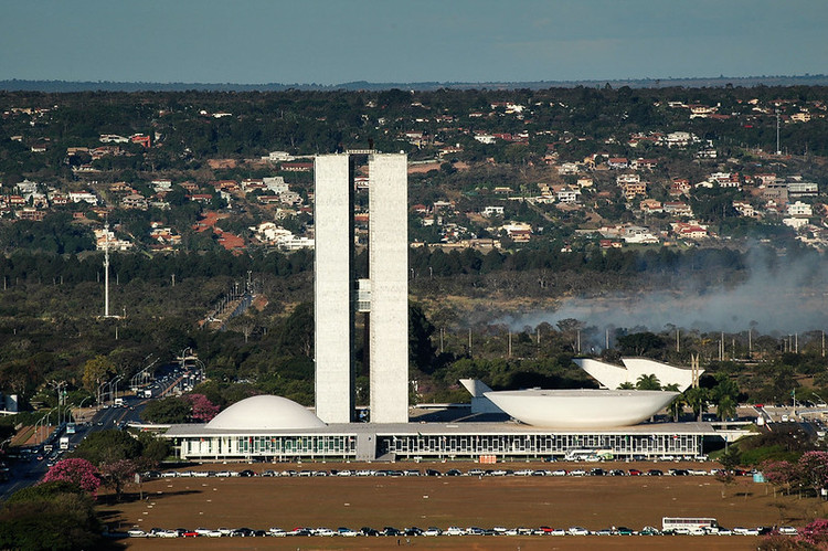 Brasília: uma cidade que não faríamos de novo, Congresso Nacional. Foto via Visualhunt / CC