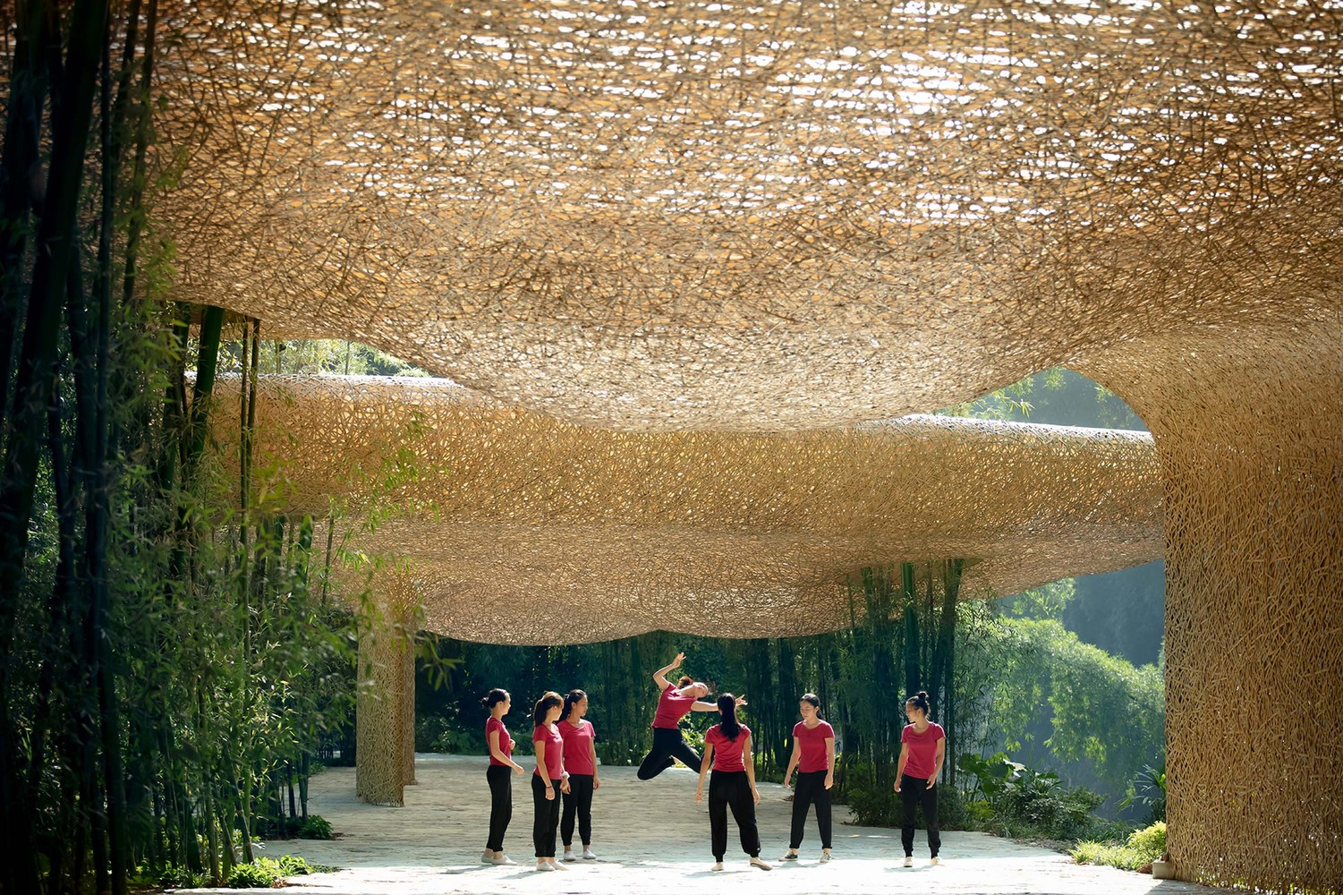 Bamboo Bamboo, Canopy and Pavilions / IILab.