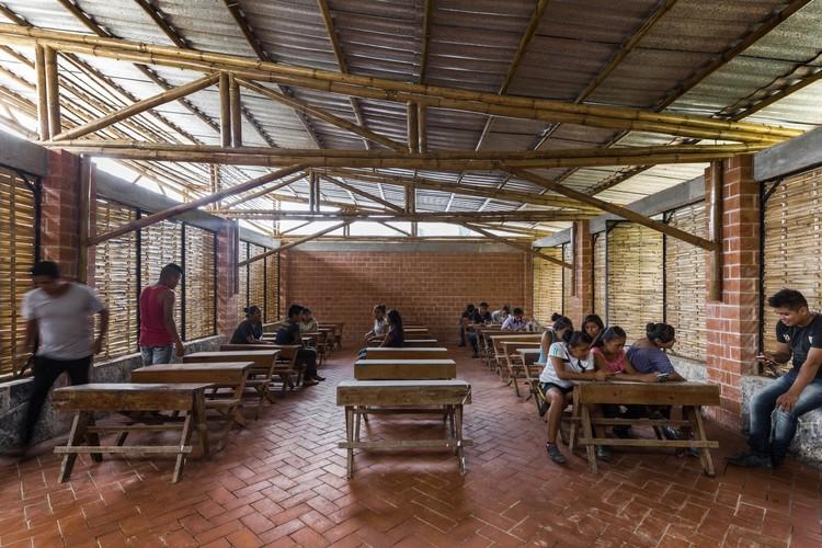 30 obras que representarán a México en el Premio Oscar Niemeyer para la Arquitectura Latinoamericana, Primera Etapa Escuela Rural Productiva / Bachillerato Rural Digital No.186 + Comunal Taller de Arquitectura. Image © Onnis Luque