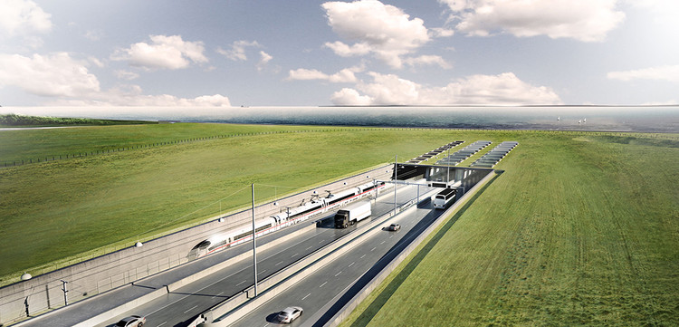 The World's Longest Immersed Road and Rail Tunnel, between Denmark and Germany, Receives Green Light , Courtesy of Femern A/S