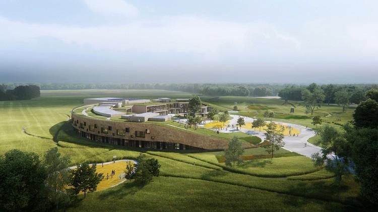 Henning Larsen projeta primeira escola da Dinamarca com o selo Nordic Ecolabel, Cortesia de Henning Larsen