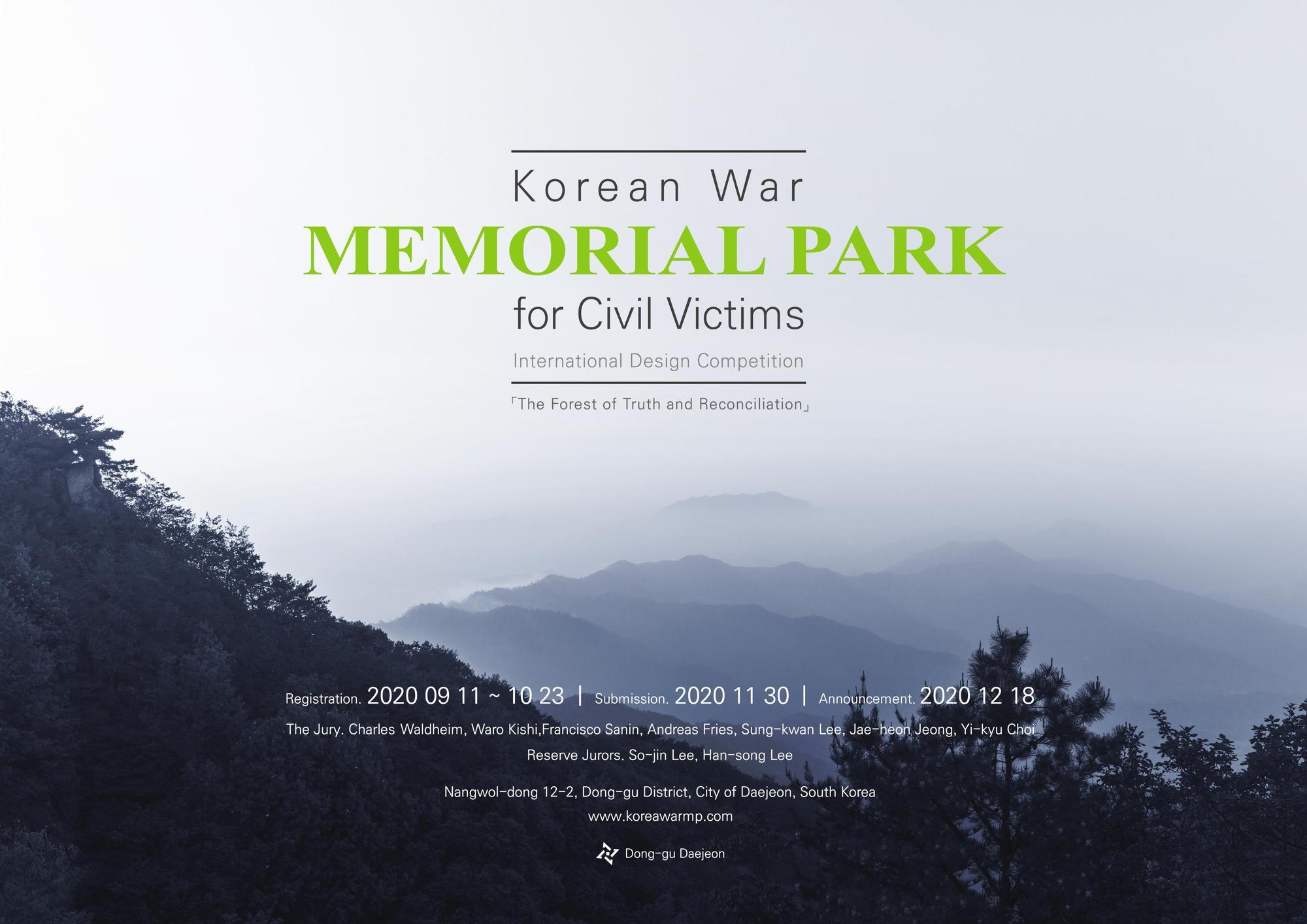 International Design Competition for Korean War Memorial Park for Civil Victims
