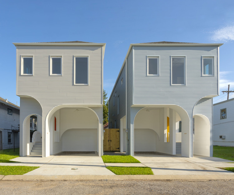 Jonathan Tate Talks Hurricanes, Homes, and Hotels, 3609-13 S. Saratoga Starter Home*, completed in 2019 by OJT. Image Courtesy of Office of Jonathan Tate