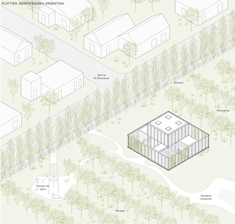 Primer Premio - Ruca. Image Cortesía de FARO Arquitectura
